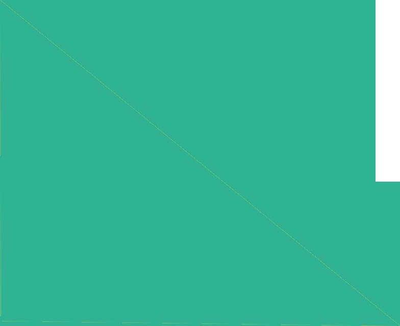 Triangulo banner home verde